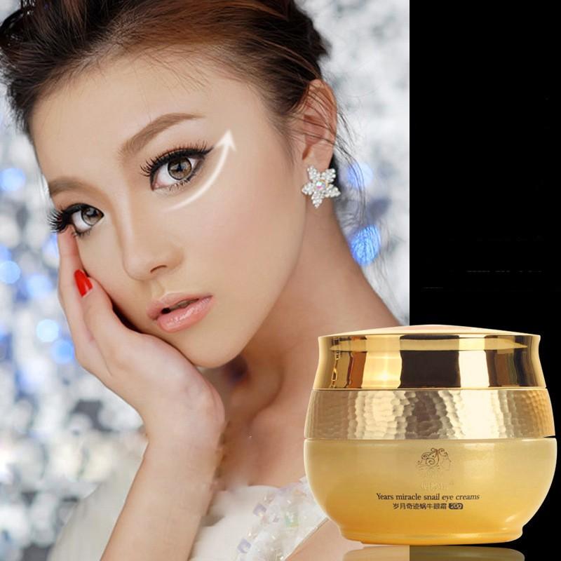 Snail-Eye-Cream-Korea-Imported-Raw-Materials-Remover-Eye-Dark-Circle-Anti-Puffiness-Anti-Wrinkle-Anti