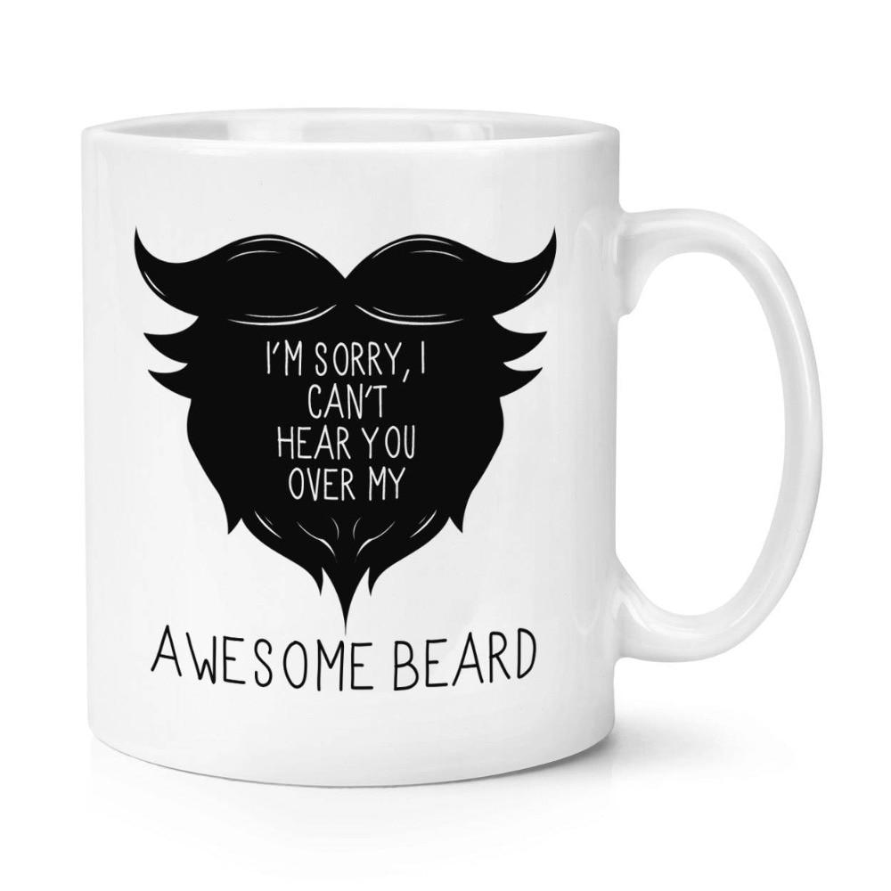 awesome beard mugs beer cup coffee mug ceramic tea cups home decor kitchen decal novelty mugen