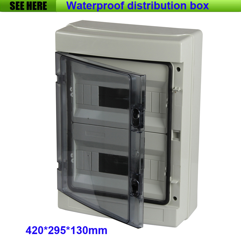 Circuit Breaker Box Cover Decorative Decorative Electrical: Top Quality PC Cover ABS Body Waterproof & Dustproof Wall