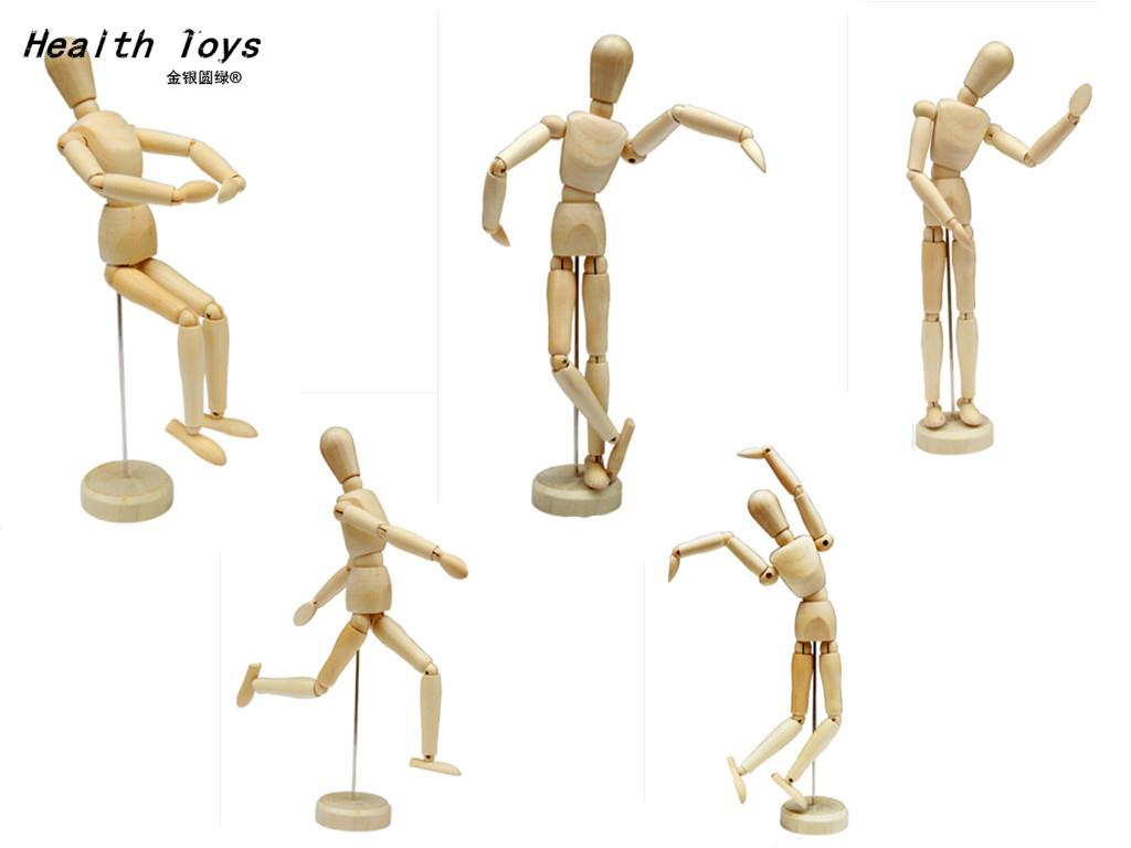 Figure-Model Mannequin Movable Artist Action-Toy Wooden Male NEW Limbs Draw Bjd Sketch
