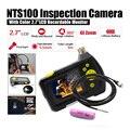 """Dia 5.5mm 2.7 """"NTS100 Endoscopio Endoscopio de Inspección de Serpiente 3 M Tubo de La Cámara DVR"""