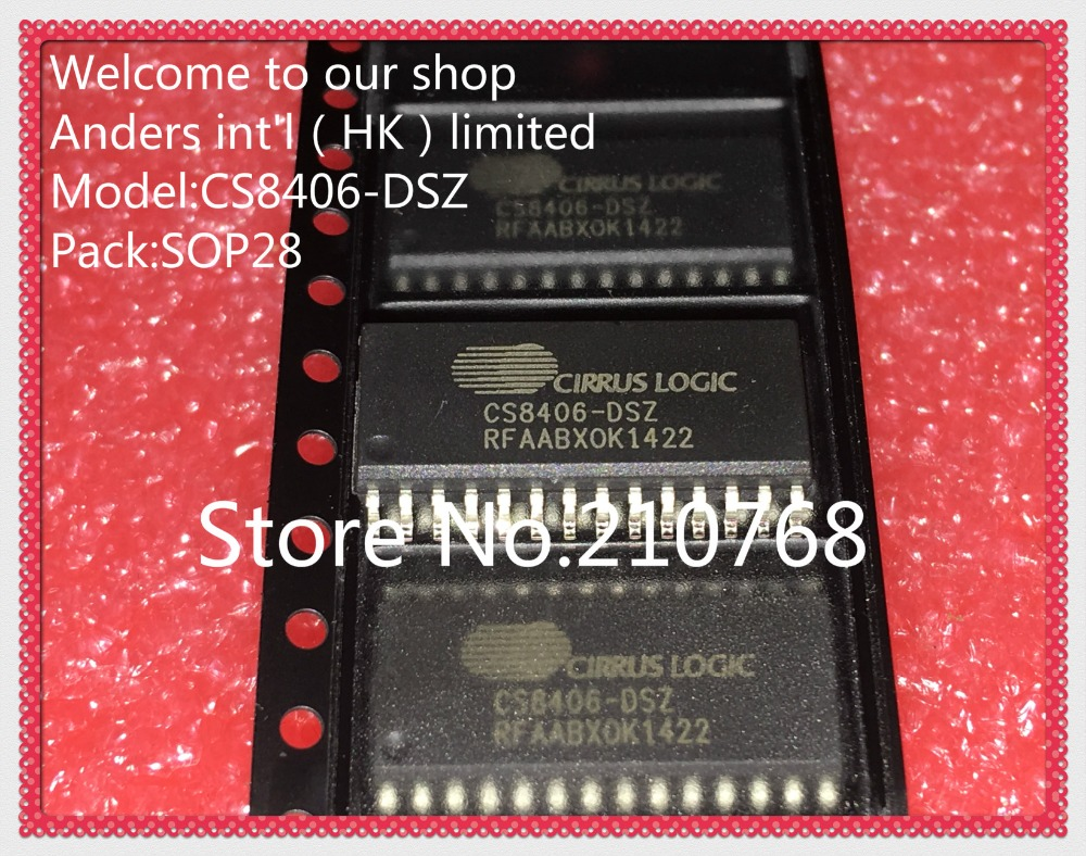 50pcs lot CS8406DSZ CS8406 DSZ CS8406 DS CS8406