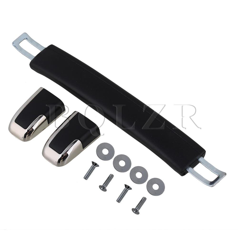 BQLZR Luggage Carry Plastic B022 Handle with Screws Caps 16cm Black Handle smart sm407 01 c35