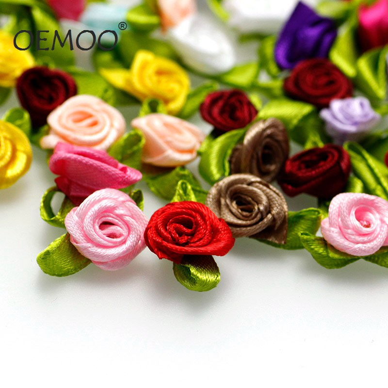 100PC/50 Mini Mix Color Decorative Flower Artificial Silk Flowers Party Wedding Decoration Home Decor(without stem) Cheaper