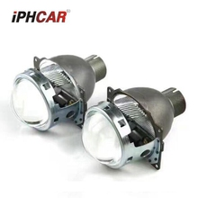 2pcs 3.0 inch H4Q5 Bi xenon hid Projector lens metal holder D2S D2H xenon kit bulb headlight H4 model car styling Modify
