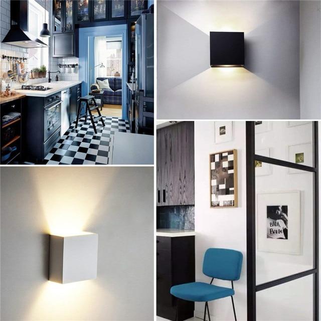 6W LED Wall Lamp Modern Bedroom Beside Reading  4