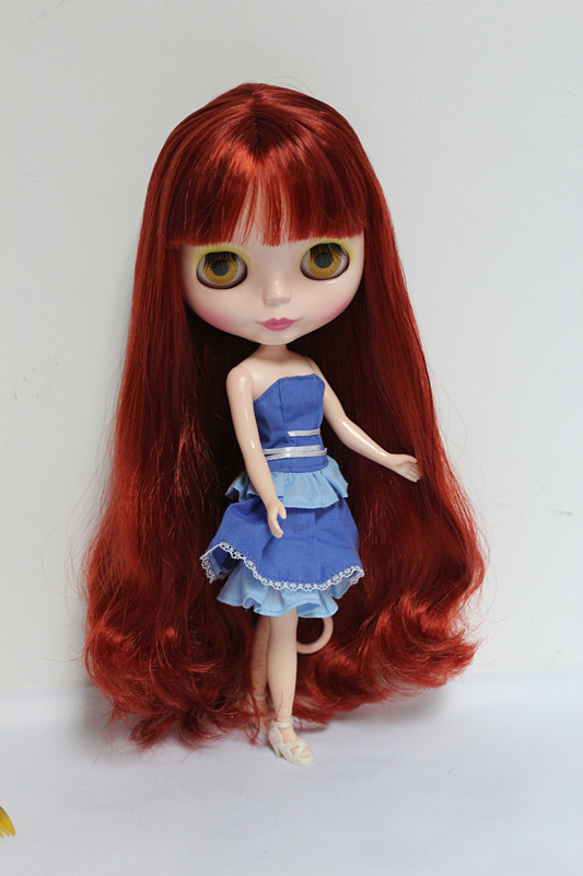 Free Shipping big discount RBL-39DIY Nude Blyth doll birthday gift for girl 4 colour big eyes dolls with beautiful Hair cute toy free shipping big discount rbl 11 15 diy nude blyth doll birthday gift for girl 4 colour big eyes with beautiful hair cute toy