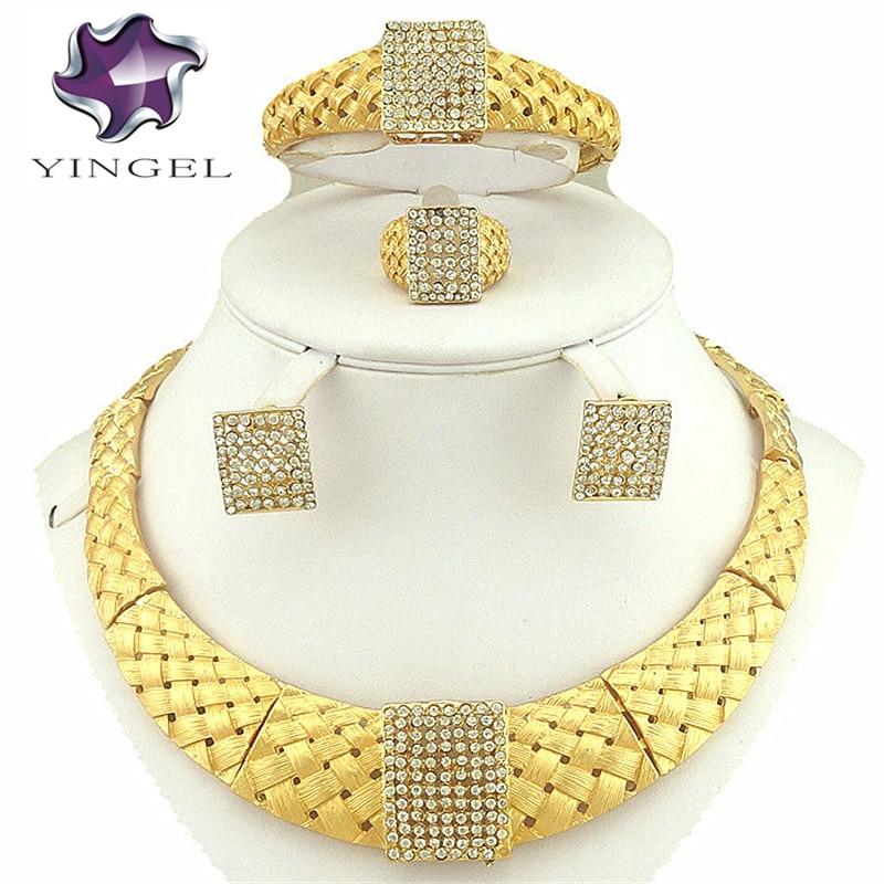 gratis frakt afrikanska guld smycken sätter högkvalitativa smycken - Märkessmycken