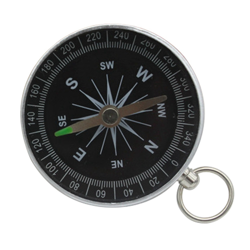 Hunting. Hiking,Cycling Outdoor Map Measuring,Compass Keychain Portable Outdoor Navigation Tools for Camping