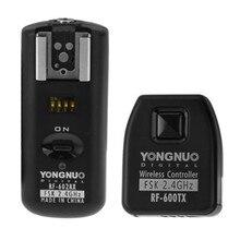 YONGNUO RF 602/N YONGNUO RF 602 RF602 RF 602 2.4GHz اللاسلكي عن بعد فلاش الزناد لنيكون D90 D5100 D700 D3 + شحن مجاني