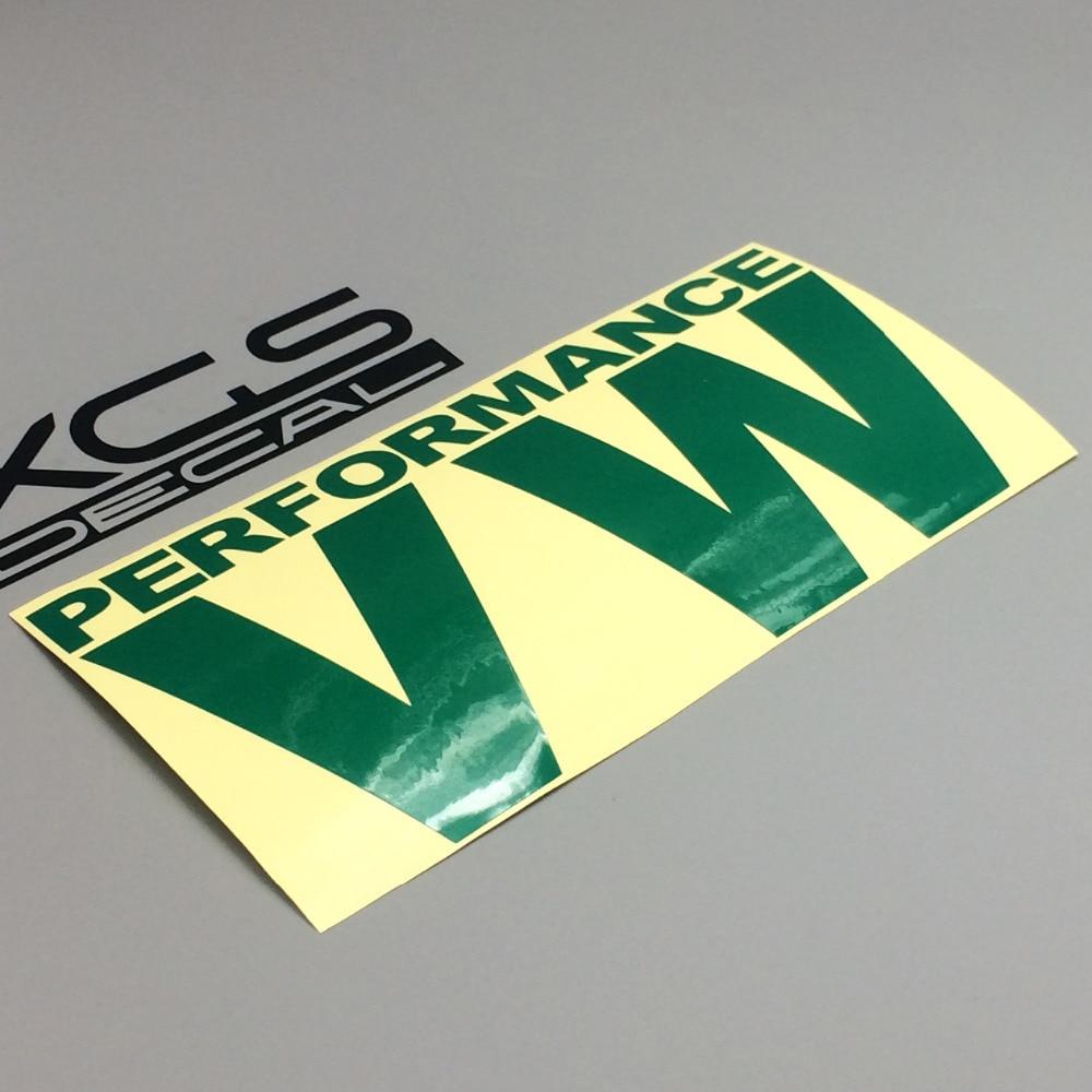 Наклейка автомобиль для укладки наклейка xgs по производительности Фольксваген 15см х 8 см мотоцикл автомобиль грузовик электровелосипедом виниловые светоотражающие наклейки водонепроницаемый