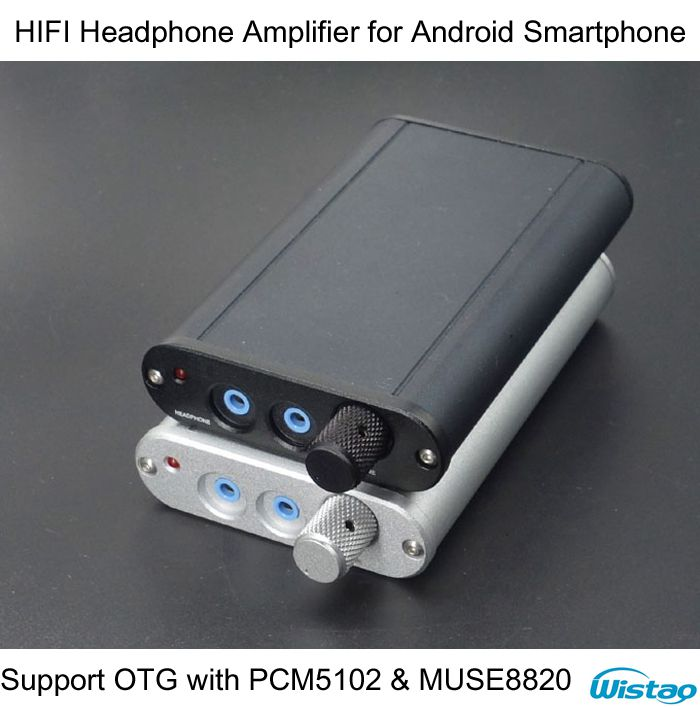 IWISTAO HIFI Headphone Amplifier for Android Smartphone Support OTG Function with PCM5102 and MUSE8820