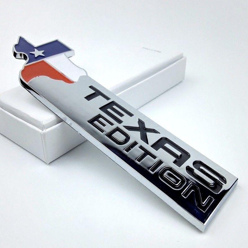 Эмблема авто Техас издание АБС для Додж рам Форд f150 Шевроле Сильверадо джип хром
