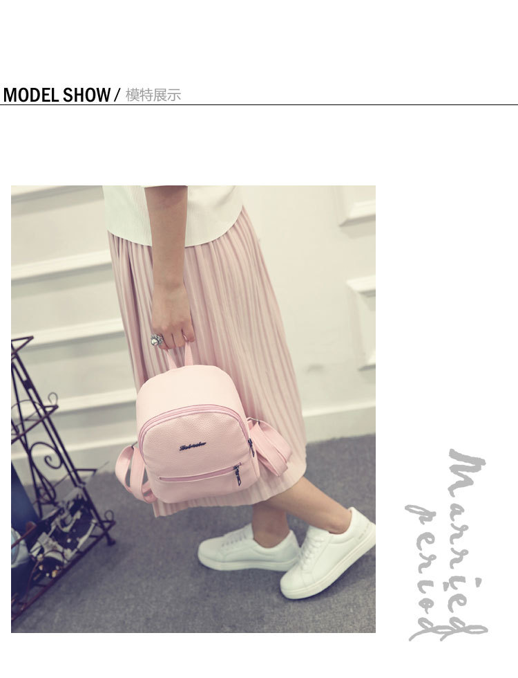 HTB1GD4SucuYBuNkSmRyq6AA3pXag 2019 New Backpack Summer Small Women Backpack Candy Color Student Travel Shoulder Bags Teenager Girls Female Mochila Bagpack