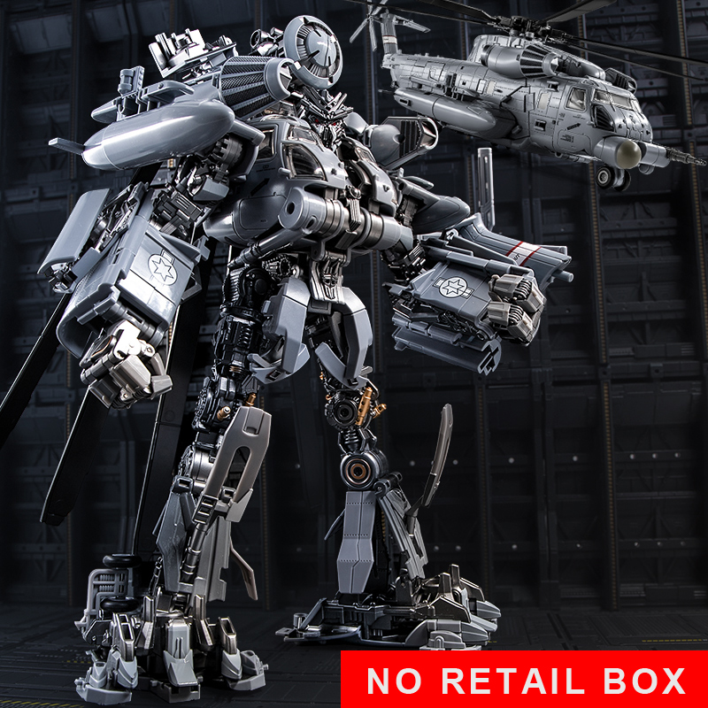 Transformation Blackout SS08 Oversize Alloy M05 Helicopter 10th Anniversary Movie Film Figure Robot Toys No Retail