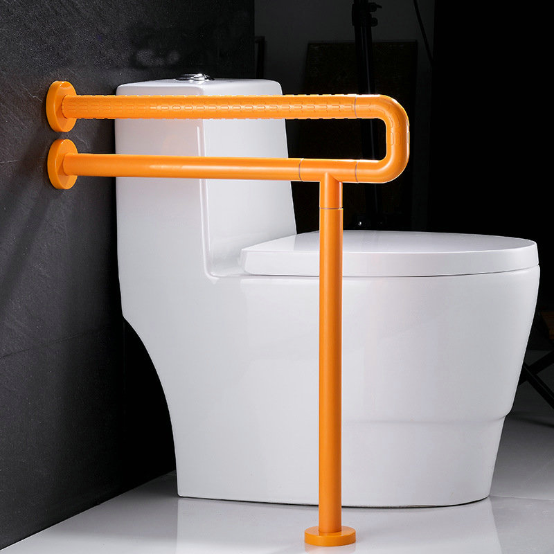 Barrier free Toilet Handrail Slip proof Rack In Toilet Bathroom Safety Handrail Noctilucent Closestool Safety Handrail