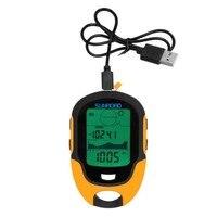 Nova marca Multifuncional FR500 Portátil Tela Lcd Dispositivo de Uso Ao Ar Livre Barómetro Altímetro Digital À Prova D' Água