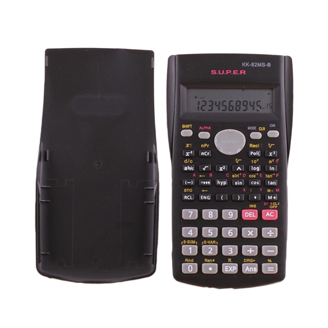 NOYOKERE Function Calculator Handheld Multi-function 2-Line Display Digital LCD Scientific Calculator Wholesale