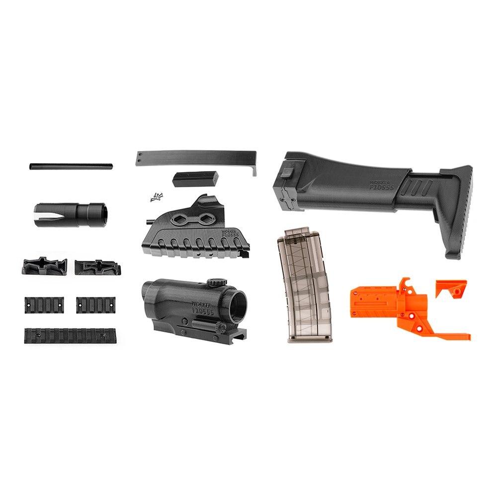 MOD XM8 Imitation Kit 3D Impression Décoration Haute Résistance En Plastique Pour Stryfe Modifier Jouet Pour Nerf Pièces BRICOLAGE Jouets Pistolet accessoire