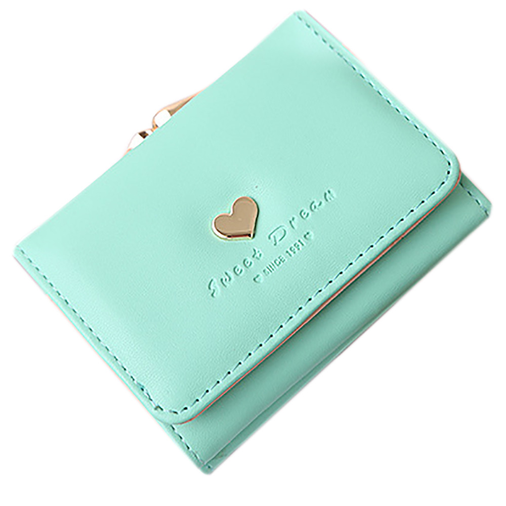 2017 Women Wallets Lady Leather Clutch Short Wallet Card Holder Purse Bag Wallets carteras mujer Ladies Purse portefeuille femme yusuf cat stevens brisbane