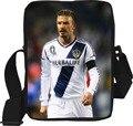 2016 hot sale David Beckham footballsingle sacos de ombro crossbody saco do mensageiro para a escola para os fãs dos homens saco ocasional