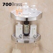 Acero inoxidable 304 estante de baño moderno extraíble ABS plástico esquina pared  estante ducha baño soporte 107fabab44d3