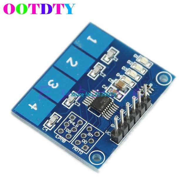 ttp224 4 way capacitive touch switch module digital touch sensor forttp224 4 way capacitive touch switch module digital touch sensor for arduino apr24_0