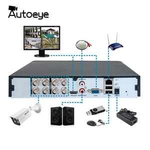 Image 3 - Autoeye 4CH 8CH 5MP Hybrid DVR 1 IN 5 CCTV DVR Support 5MP AHD Camera P2P Audio Input XMEye