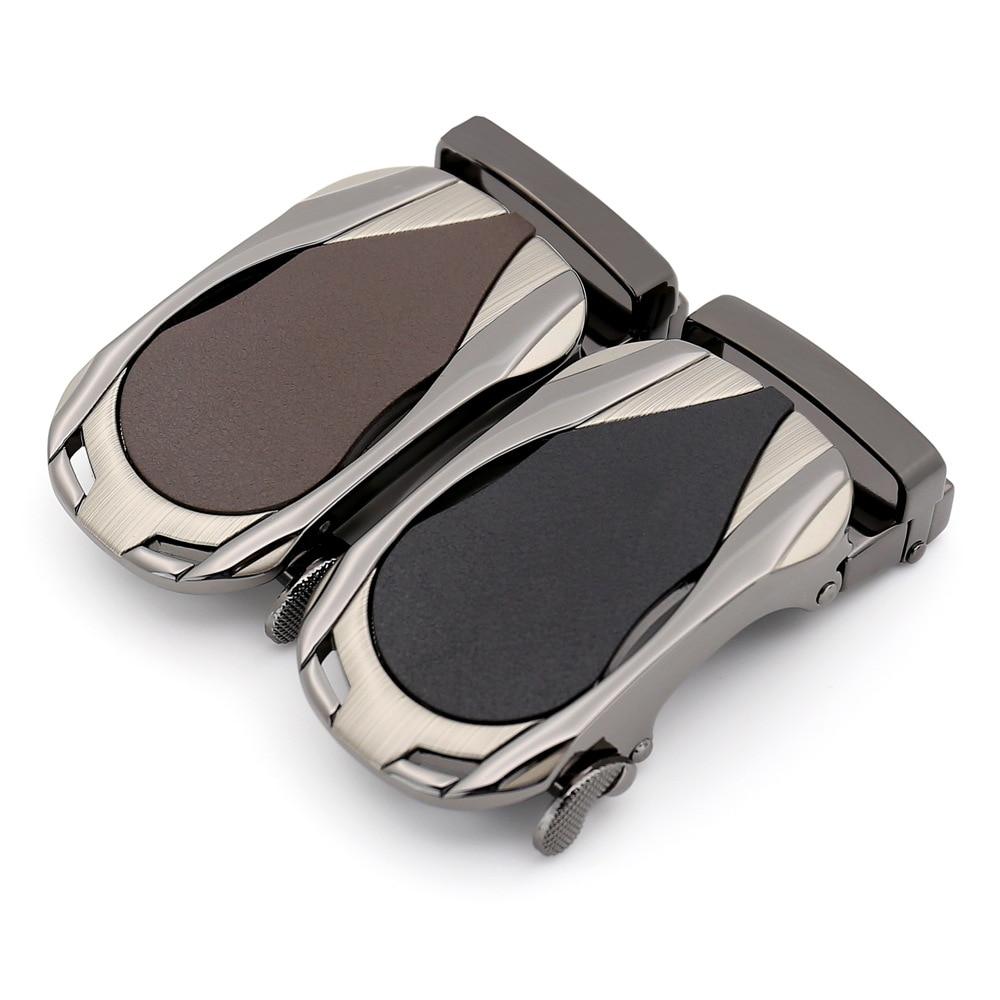 3.5cm Width Automatic Belt Buckle Luxury Brand Belt For Men Black Brown Belt Buckles Head CE7393