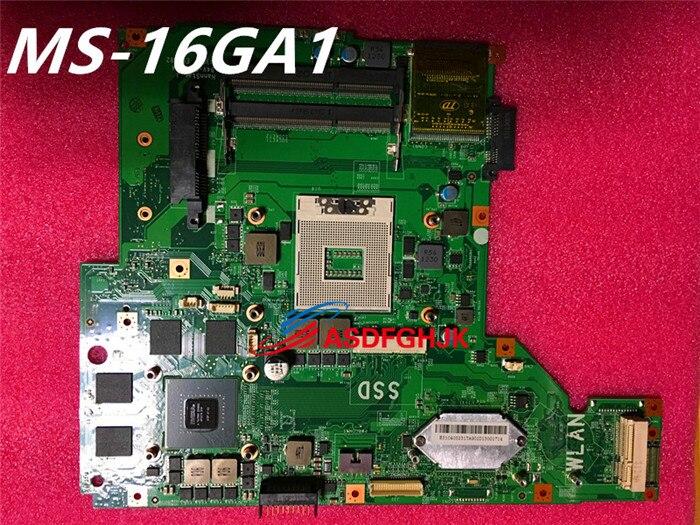 100% QualitäT Original Ms-16ga FÜr Msi Ge60 Laptop Motherboard Ms-16ga1 Rev 1,0/1,1 Test Ok SorgfäLtige FäRbeprozesse