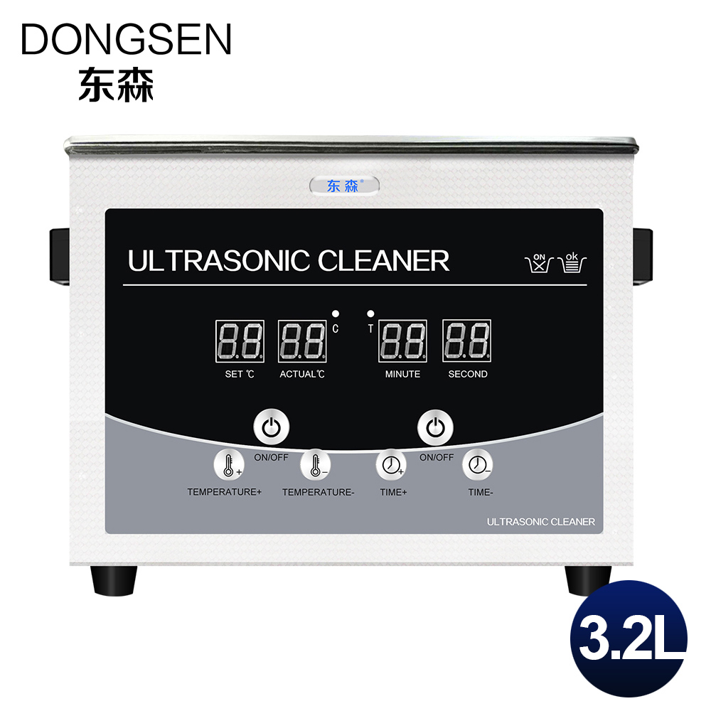 Digital Ultrasonic Cleaner 3.2L Bath Timer Heater Mechanical Parts Oil Rust Degreasing Motherboard 3L Ultrasound Washing Machine digital 3 2l ultrasonic cleaner parts electronic dental instrument tanks glasses circuit board injectors 3l washer heater timer