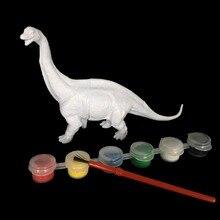 Coloring Painting Animal Dinosaur Brachiosaurus Stegosaurus Tyrannosaurus Rex Drawing Graffiti