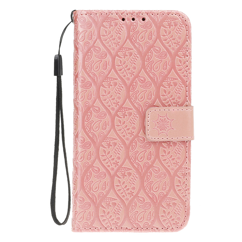 Rattan flower Leather Case For Samsung Galaxy Note 9 8 4 3 A7 A8 A9 J4 J6 2018 Plus J7 Duo J2 Core J4 J5 J6 J7 PRIME Cover Coque