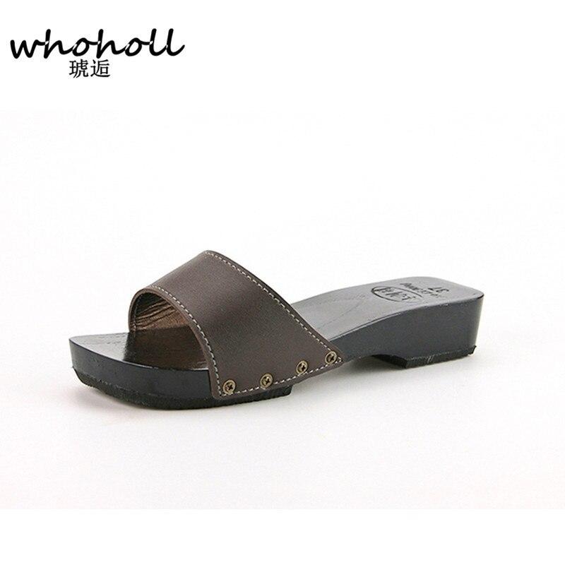2016 Summer women Sandals Japanese Clogs Geta Wooden ...