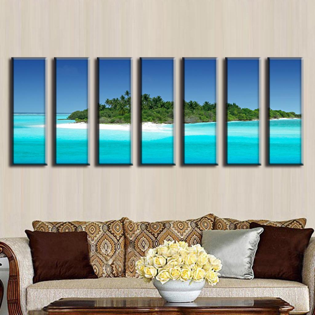 Online kopen wholesale grote zeegezicht schilderijen uit china ...