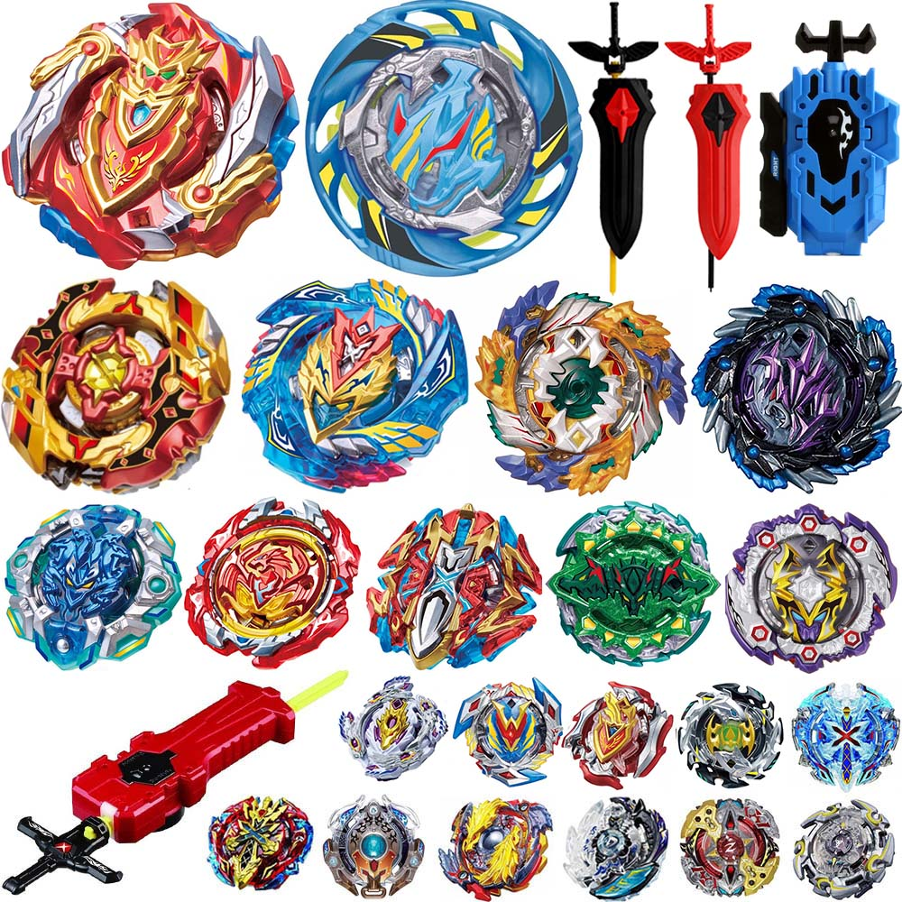 Latest Hot Sale Beyblade Burst B-125 B-122 B-129 B-128 Toupie Bayblade Bursts Metal Fusion God Spinning Top Bey Blade Blades Toy
