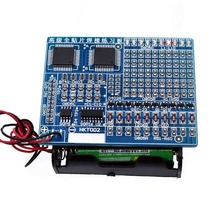 SMT SMD Component Welding Practice Board Soldering DIY Kit Resitor Diode Transistor By start Learnin