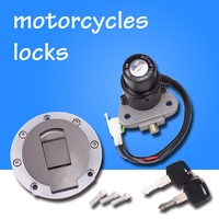 Motorcycle Ignition Fuel Gas Tank Cap Cover Lock For Yamaha FZR400 FZR250 TZR250 TZM150 TZR125 TDR125