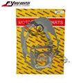 El envío Libre de La Motocicleta Conjunto completo kit de juntas completo esteras almohadillas de reacondicionamiento general del motor Para Suzuki DR200 DR 200