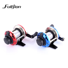 Fulljion Ice Fishing Reels With Fishing lines Bait Casting Reel Raft Drum Wheel TB Small Liner Pasca Lures Fishing Tackle 3:6:1