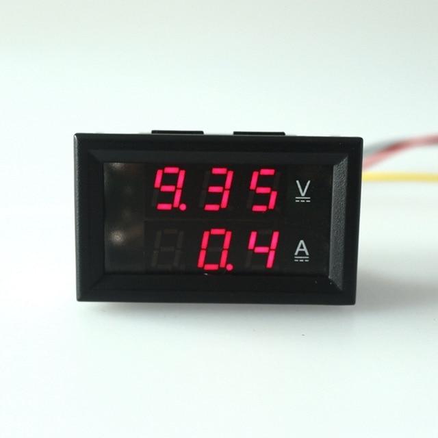 Digital DC 4.5-30 V/100A Ammeter voltage meter Volt Ampere Gauge Amp Voltmeter & Digital DC 4.5 30 V/100A Ammeter voltage meter Volt Ampere Gauge Amp ...