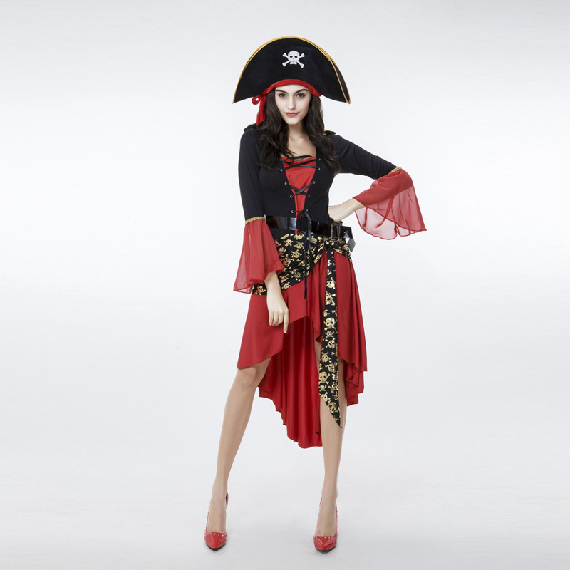 halloween costumes for women plus size pirates of the caribbean costume women Adult Cosplay Fancy Dress Jack Sparrow Pirate
