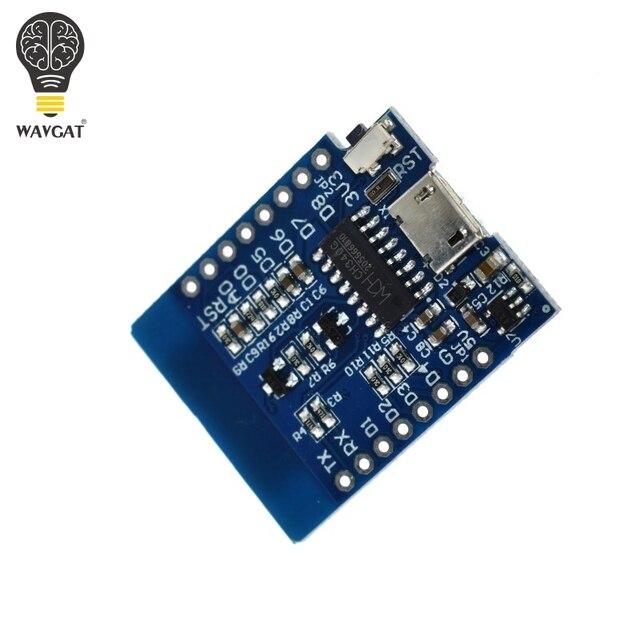 D1 Mini ESP8266 ESP-12 ESP-12F CH340G CH340 V2 USB WeMos WIFI Development Board D1 Mini NodeMCU Lua IOT Board 3.3V With Pins 3