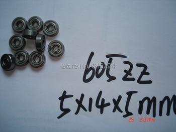 Free shipping---50pcs 605zz s605zz ball bearings 5*14*5MM S605zz stainless steel bearings