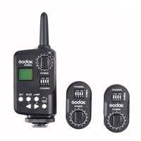 Godox футо-16 Беспроводной Мощность триггер контроллер + 2 * приемник для GODOX WITSTRO AD180 AD360 Speedlite Canon Nikon pentax фотокамеры