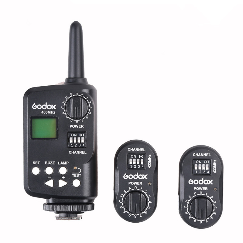Godox FT-16 Wireless Power Controller Trigger + 2* Receiver for Godox Witstro AD180 AD360 Speedlite Canon Nikon Pentax Cameras godox ad360 camera outdoor shooting flash kit ad 360 360w flash ft 16 wireless trigger ad s17 diffuser 60 60cm softbox