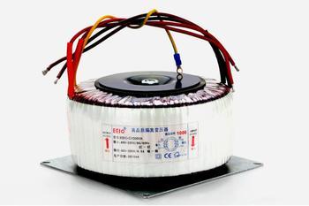 Transformador Toroidal de 220V transformador de cobre personalizado 220V entrada 220V 4.5A 1000VA transformador de aislamiento