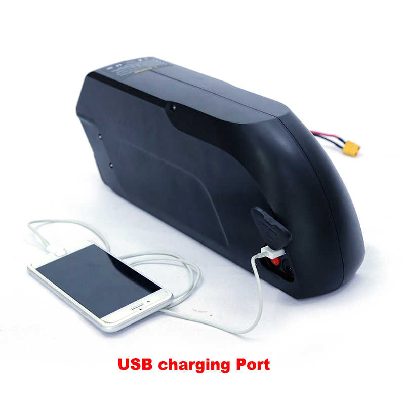 48v 17ah electric bike lithium battery pack for 1500w e bike kit