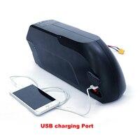 חבילת סוללת ליתיום אופניים חשמליים 48 v 17ah עבור 1500 w ערכת אופני דואר