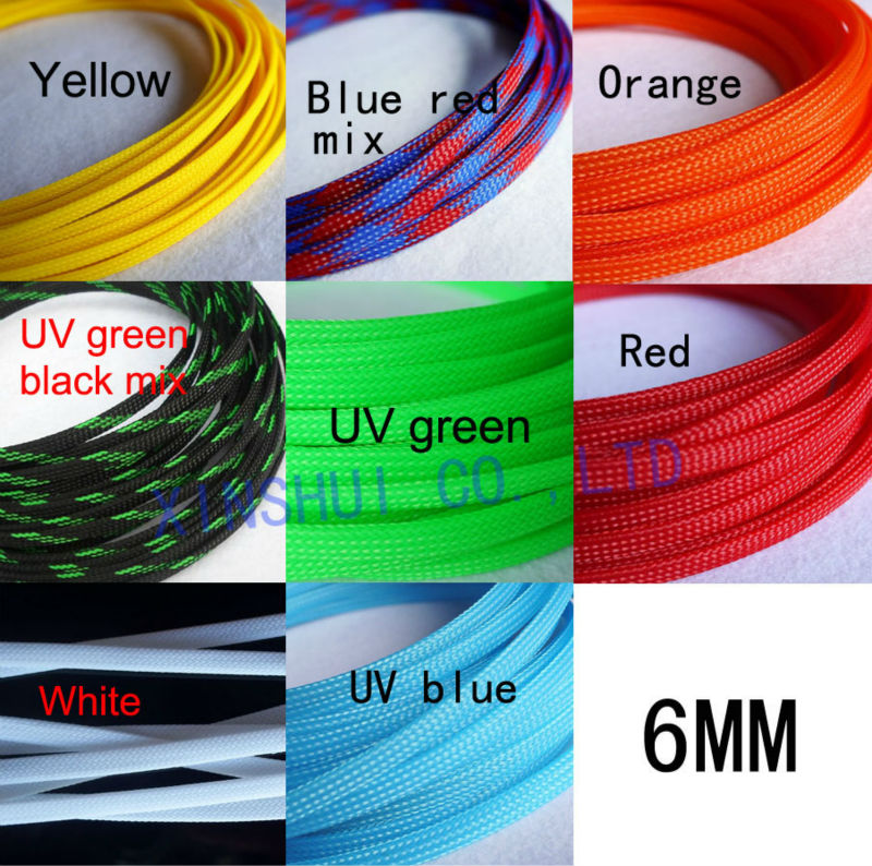 10m 6mm wire mesh guard rc car quadcopter wiring braided